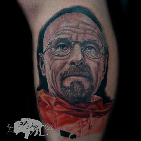 Tattoos - Walter White Heisenberg - 132781