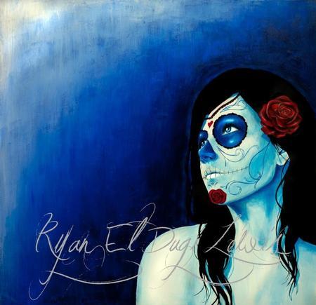 Ryan El Dugi Lewis - Blue Looking to the Light