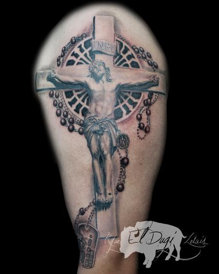 Ryan El Dugi Lewis - Jesus Christ crucifixion and Rosary