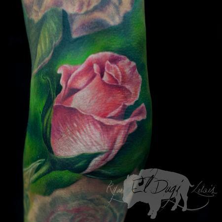 Ryan El Dugi Lewis - Pink Rose Bud