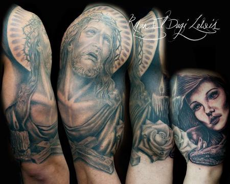 Ryan El Dugi Lewis - Religious Sleeve