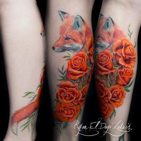Ryan El Dugi Lewis - Red Fox Roses