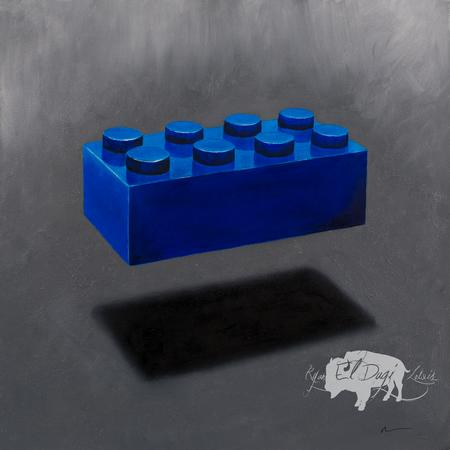Ryan El Dugi Lewis - Blue Lego Block