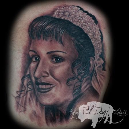 Ryan El Dugi Lewis - Mothers portrait