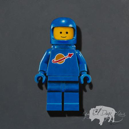 Ryan El Dugi Lewis - Blue Lego Spaceman