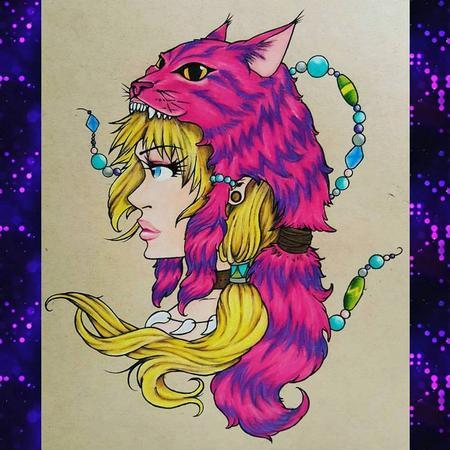 Stefanee Schofield - Alice In Wonderland Primal Cheshire
