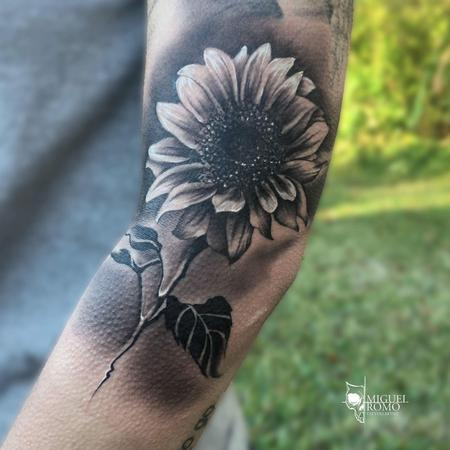 Miguel Angel Romo - Sunflower Tattoo