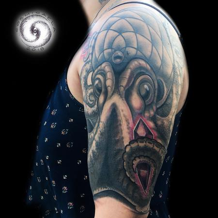 Tattoos - Octopus Cover-up - 133405