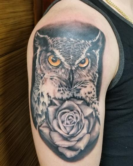 Steve Cornicelli - Owls and Roses