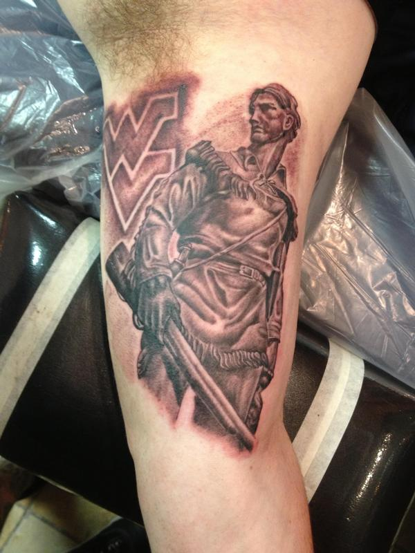 c513a6bc93397 WV Mountaineer by Tim MacNamara: TattooNOW :