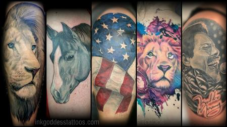 Realistic tattoos by Haylo Design Thumbnail