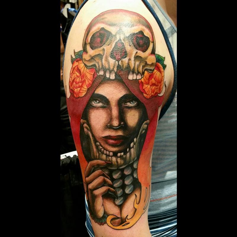 9e469f054 Headhunter Tattoo by Jesse Neumann: TattooNOW :