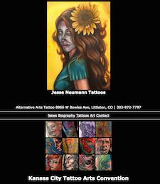 1249d63a2 Jesse Neumann @ Alternative Arts Tattoo