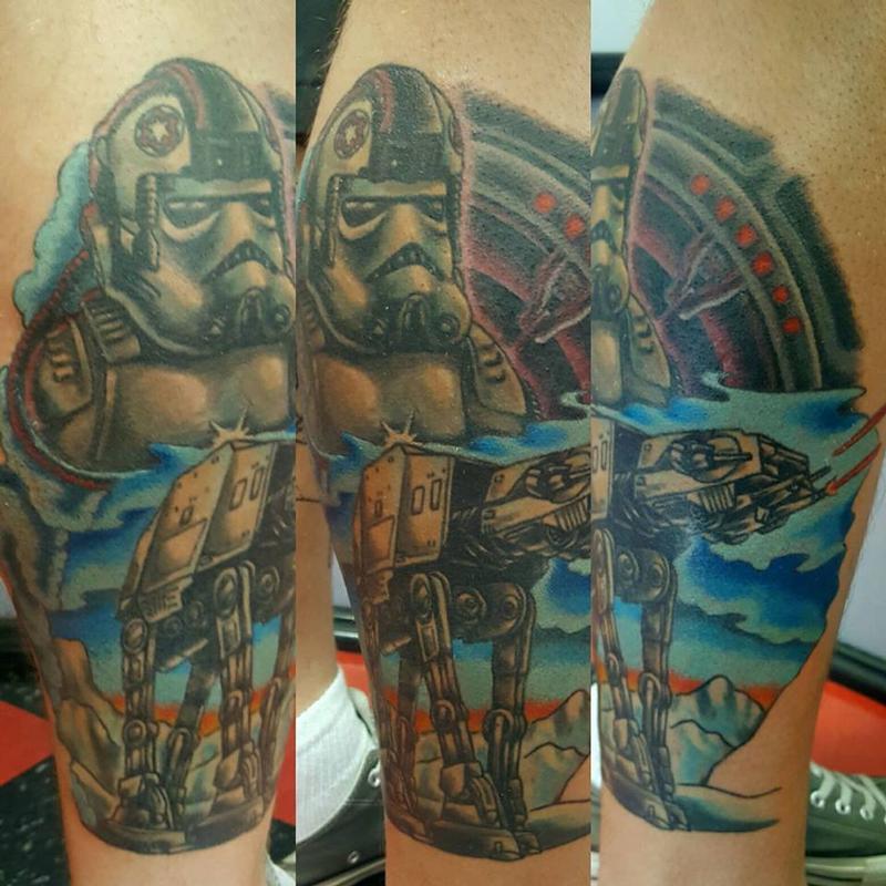 a0f8a4194 Star Wars Tattoo by Jesse Neumann: TattooNOW :