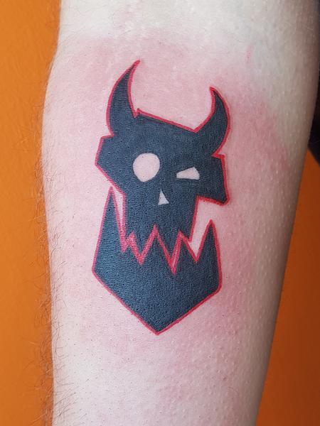 Tattoos - Warhammer Orc Tattoo - 127594