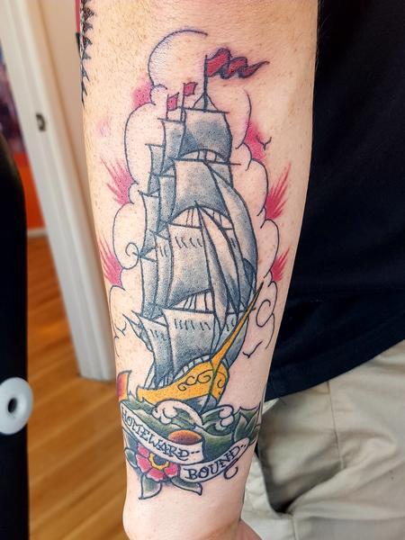 Tattoos - Homeward Bound Traditional Tattoo - 132481