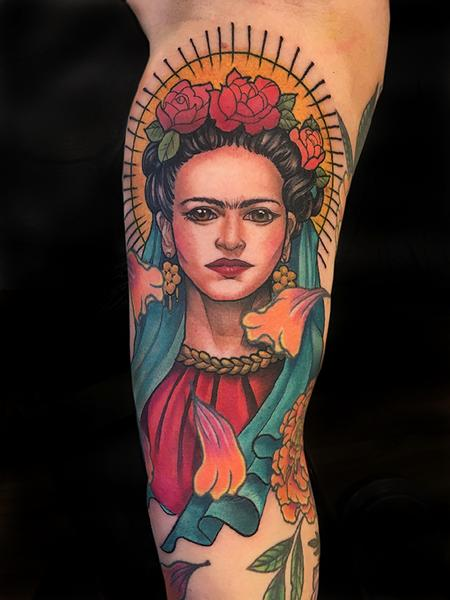 Tattoos - Frida Kahlo - 132576