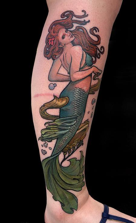 Tattoos - Mermaid - 132579