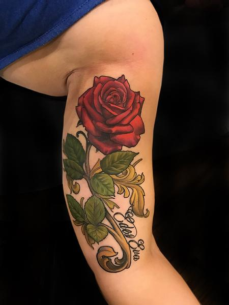 Tattoos - Rose Memorial  - 132586