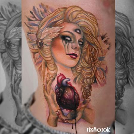 Tattoos -  Third Eye Girl - 82515