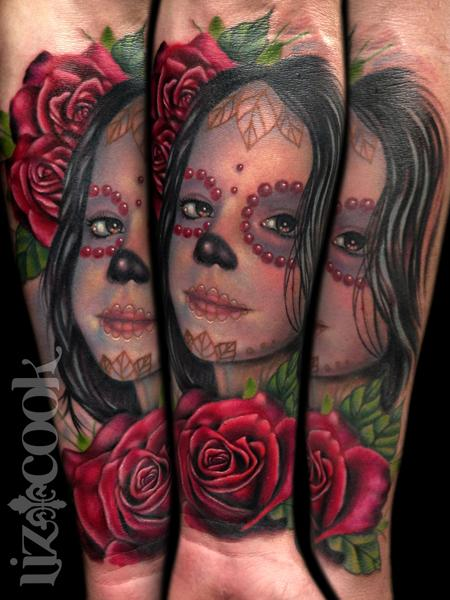 Tattoos - Day of the Dead Daughter - 76980