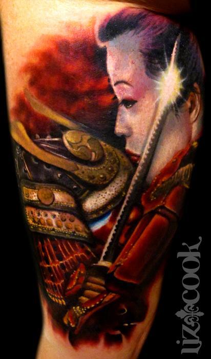 Tattoos - Samurai and Geisha - 67861
