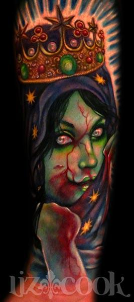 Tattoos - Virgen De Guadalupe-Zombie style - 64538