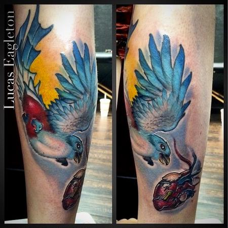 Tattoos - Cuban Trogon Bird - 109486