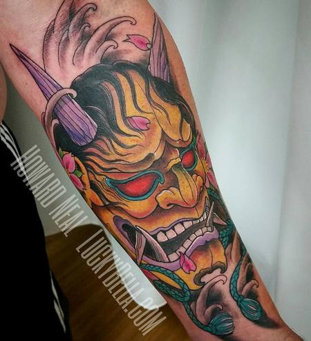 Tattoos - Hannya Mask - 120266