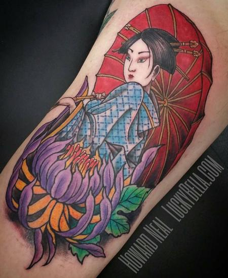 Tattoos - Geisha  - 127784