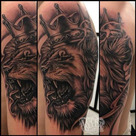 Tattoos - lion - 132195