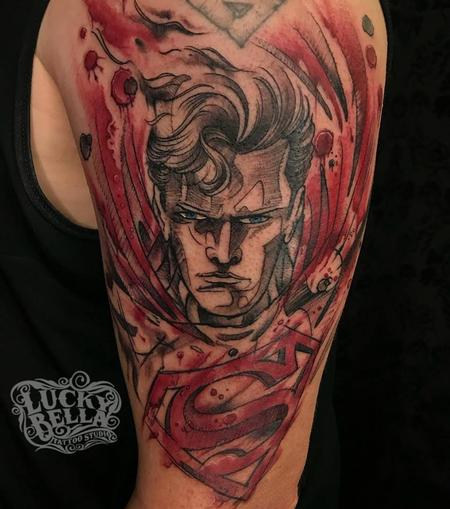 Tattoos - Superman - 134900