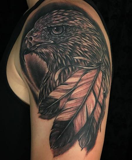 Black and Grey Hawk Design Thumbnail