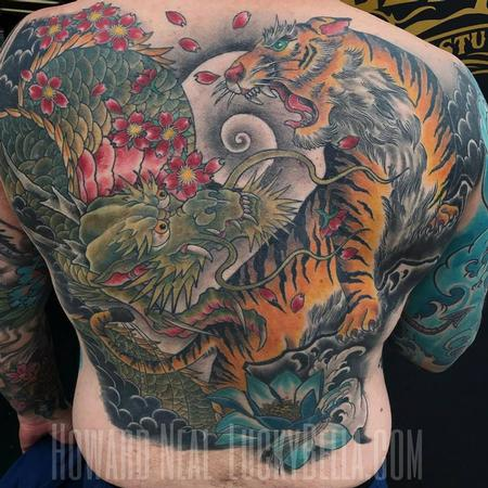 Howard Neal - Full Asian Back Piece