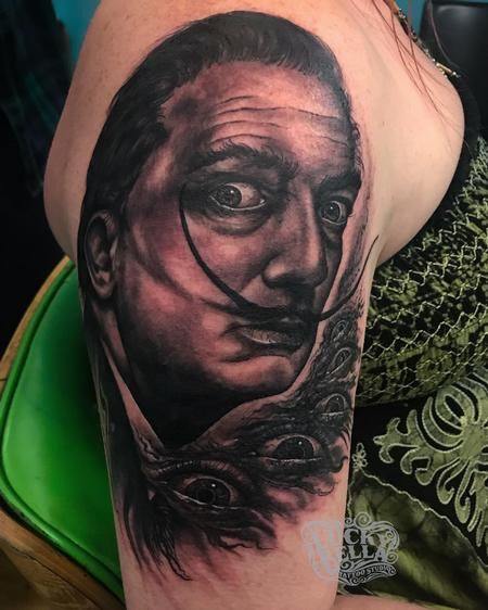 Salvador Dali Portrait  Design Thumbnail