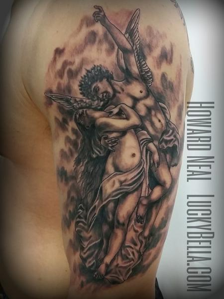 Tattoos - Cupid and Psyche - 120286