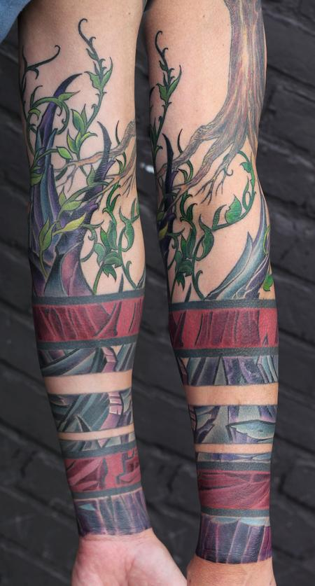 Tattoos - Rocky Vine Tattoo - 95307