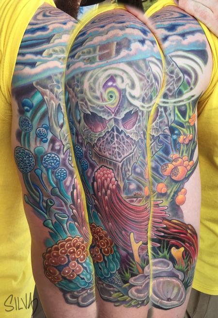 Tattoos - Custom Alien Tattoo - 109005