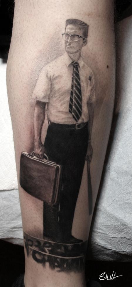 Tattoos - Falling Down Tattoo - 115751