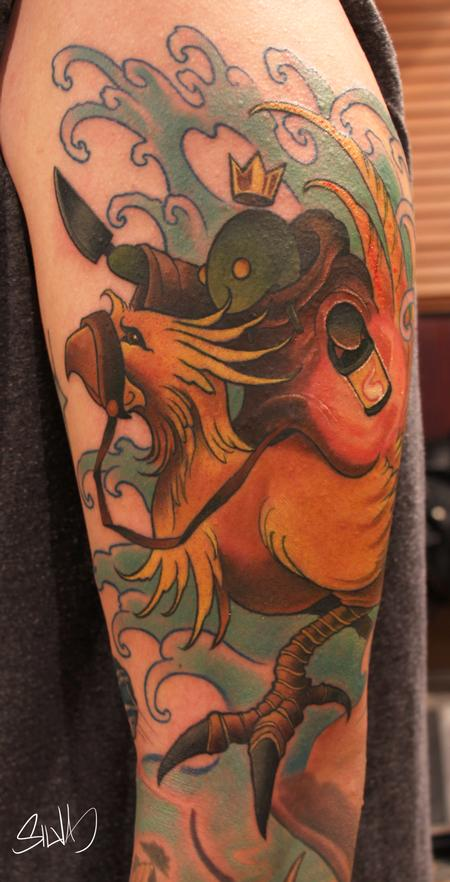 Tattoos - Custom Final Fantasy Tattoo - 115314
