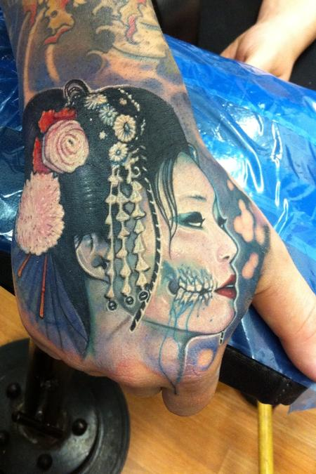 Tattoos - Geisha  - 78556