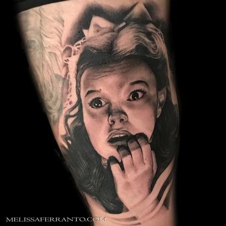 Tattoos - DOROTHY FROM WIZARD OF OZ TATTOO - 126168