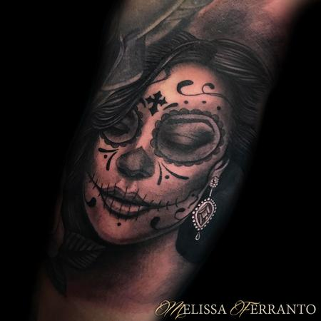 Melissa Ferranto - DAY OF THE DEAD TATTOO