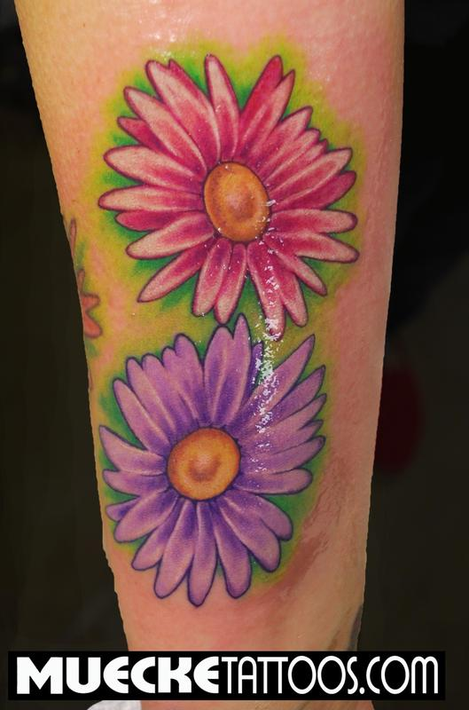 Gerber Daisey Tattoo By George Muecke Tattoonow