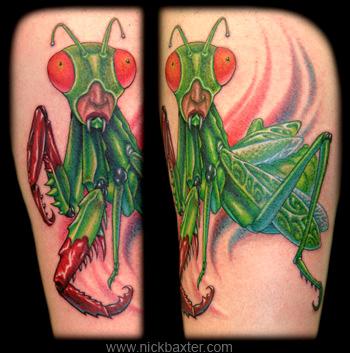 Nick Baxter - Humanoid Killer Mantis