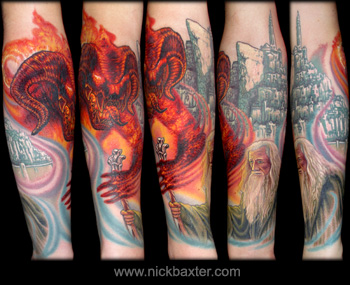 Nick Baxter - Lord Of The Rings