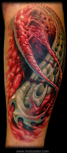 Nick Baxter - Collaborative Tattoo II