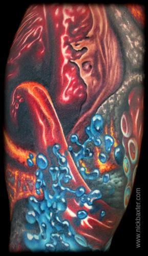 Nick Baxter - Donnie Danger Sleeve (Detail 2)