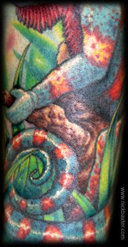 Nick Baxter - Chameleon (Detail)