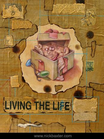 Nick Baxter - Living The Lie